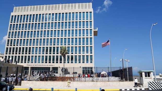 La embajada de EE.UU. en Cuba