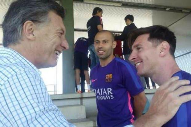 Macri confió que habló con Leo tras su renuncia