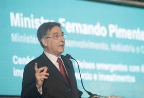 Fernando Pimentel, ministro de Desarrollo, Industria y Comercio Exterior de Brasil, en un encuentro reciente