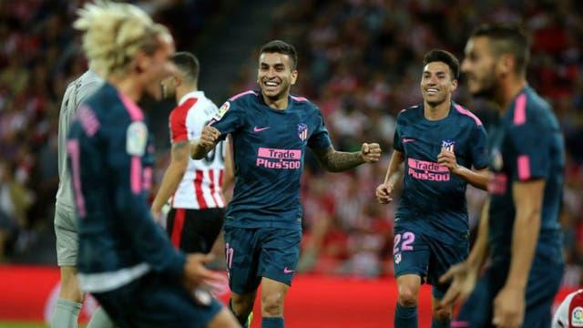 Correa hizo un gol para el triunfo del Atlético del Cholo