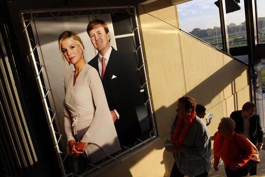 El Hipódromo de Palermo se vistió de gala para la ceremonia de asunción de los nuevos reyes de Holanda. Foto: DyN