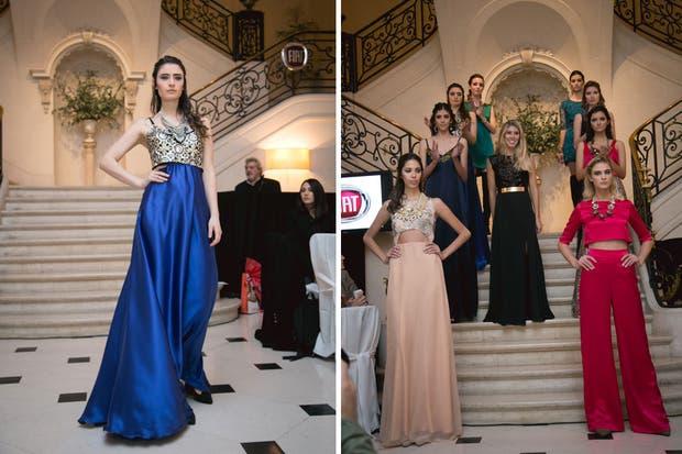 Una colección con vestidos largos y cortos, faldas con mini tops. Prendas elegantes, sexys y cómodas.