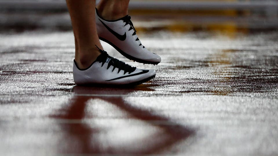 400 metros de obstáculos para los hombres Final Karsten Warholm de Noruega. Foto: Reuters