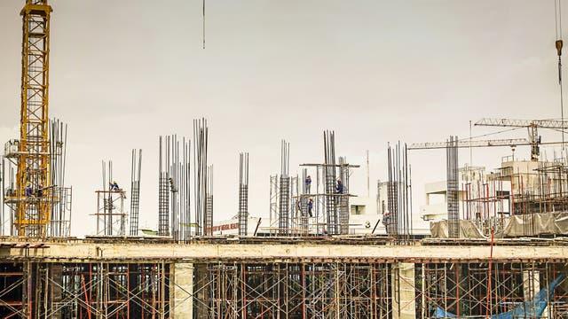 18,1% más obras. Es lo que creció la superficie con permiso para construir en abril versus marzo