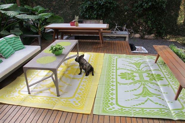 Colores poderosos en los diseños de Vanina Mizrahi.  /Gentileza Vanina Mizrahi