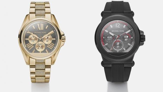 Los relojes con Android Wear de Michael Kors