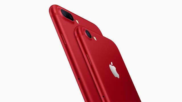 El nuevo iPhone rojo