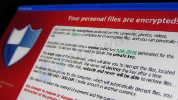 Un ransomware anuncia que ha encriptado archivos y que sólo los descifrará con un pago