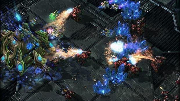 Una vista del StarCraft