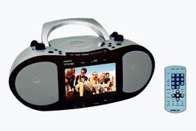 """Reproductor de DVD con display de 7"""" RCD-900DV de Noblex. Precio: $ 900"""