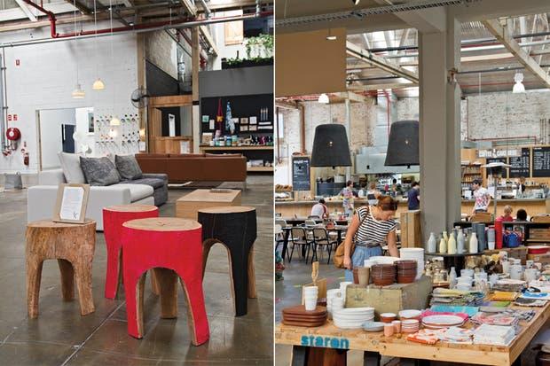 """""""Seguí tu corazón, confiá en tu criterio, hacelo con alegría"""" es el lema de Koskela, firma que fabrica muebles eco-friendly inspirados estrictamente en el estilo de vida australiano.  /Daniel Karp"""
