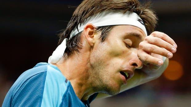 Leo Mayer-Rafael Nadal en el US Open
