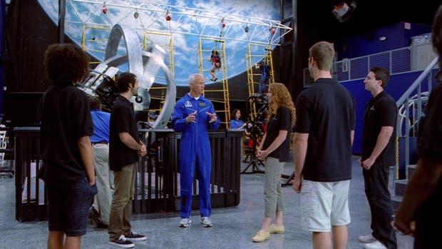 Entrenamiento como verdaderos astronautas