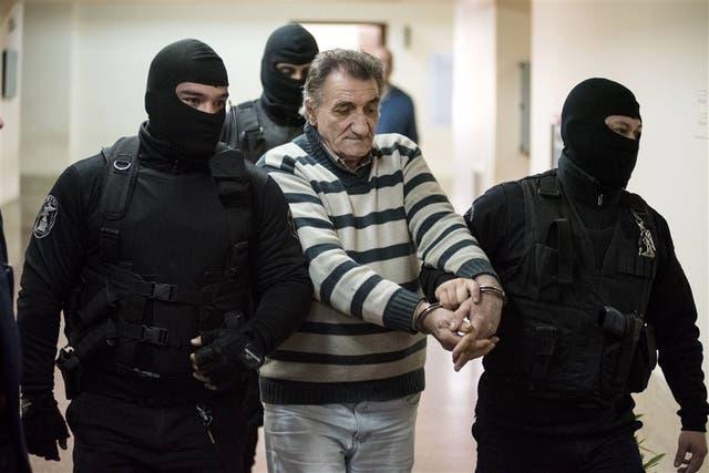 Pastorutti, trasladado a la cárcel luego de la lectura de la sentencia