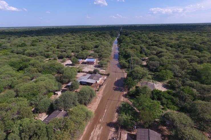 La frontera entre la Argentina y Bolivia, en la localidad de Hito uno