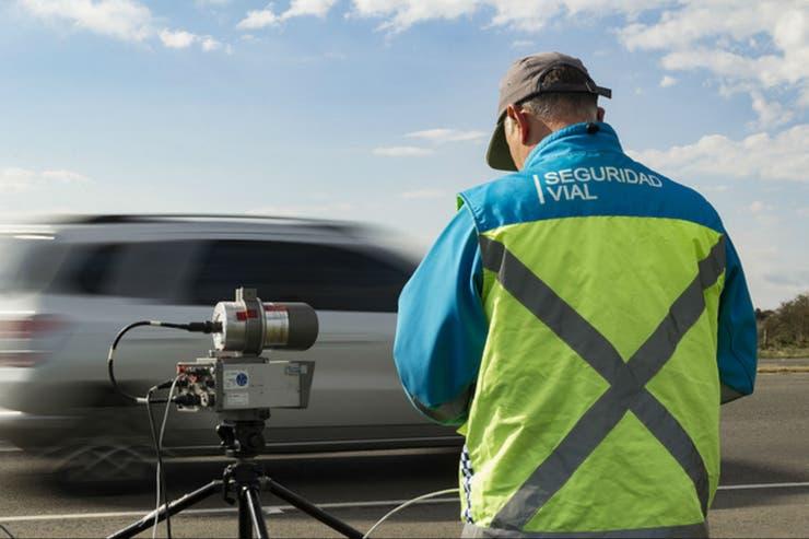 Son 60 los radares homologados en rutas nacionales en todo el país