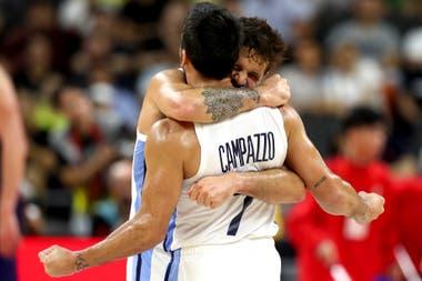 El abrazo del alma: Laprovittola y Campazzo