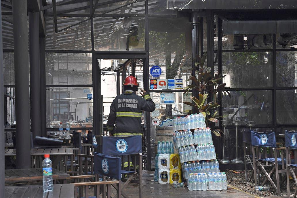 Se incendió un restaurante lindero al Museo Histórico Sarmiento — Belgrano