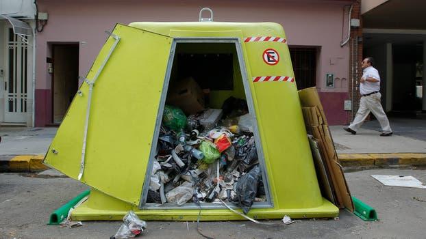 Las quejas por la falta de recolección de residuos y la limpieza o rotura de los contenedores persisten año tras año. Foto: Archivo / Anibal Greco