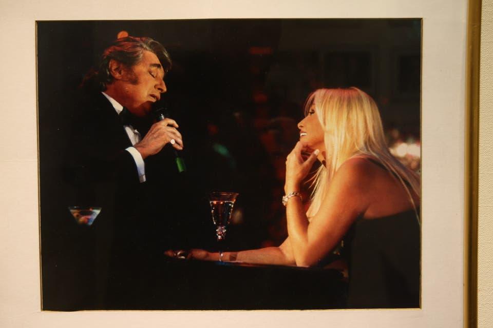 Con Sandro, uno de los momentos más románticos. Foto:Archivo