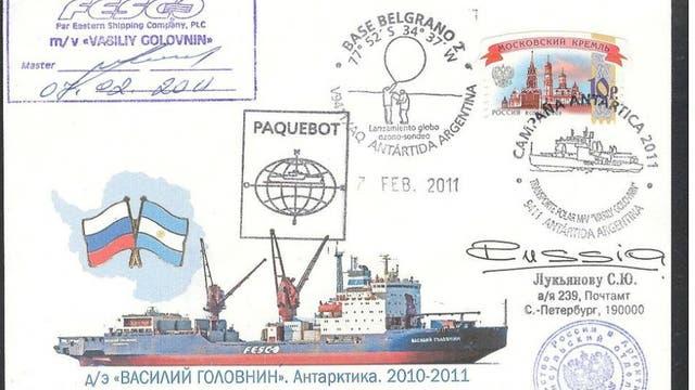 No es la primera campaña antártica del buque ruso, que debe ser usado en reemplazo del Almirante Irízar