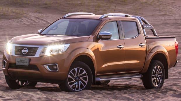 El diseño moderno y musculoso le confiere a la nueva Nissan NP300 Frontier una estética atractiva y con personalidad propia
