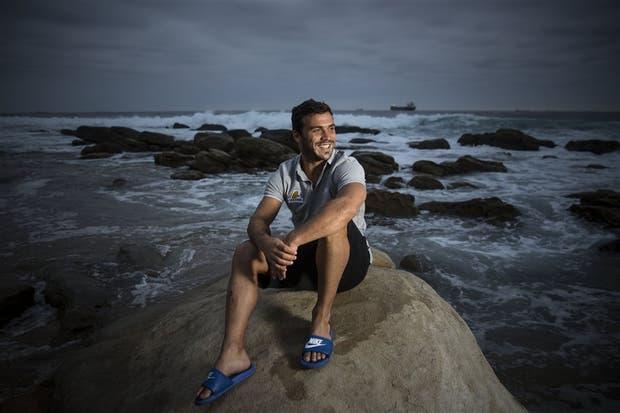 Landajo, en una etapa de consolidación, disfrutando de la tarde libre en Durban, una bella ciudad sudafricana