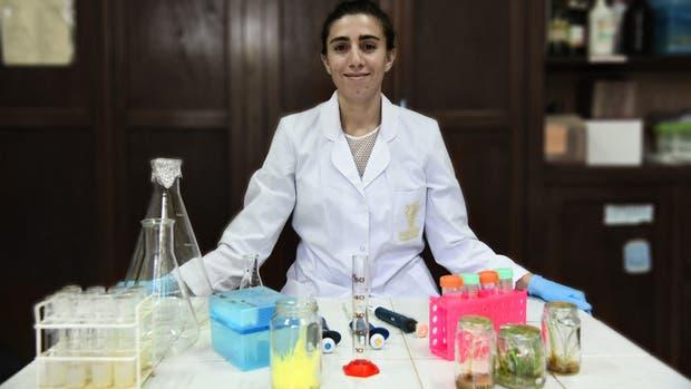 Camila Petignat creó Neogram, una firma de biotecnología