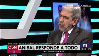 "Anibal Fernandez ""Quiero enfrentar a Macri"""