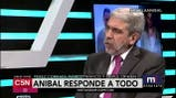"Aníbla Fernández ""Quiero enfrentar a Macri"""