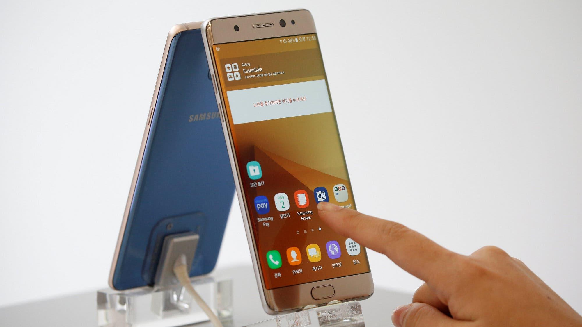 18be1bd954b La batería del Galaxy Note 7, una fuente interminable de problemas para  Samsung - LA NACION