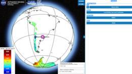 La herramienta permite ver cómo se verán afectadas 293 ciudades, entre las que se incluyen varias de Estados Unidos y América Latina.