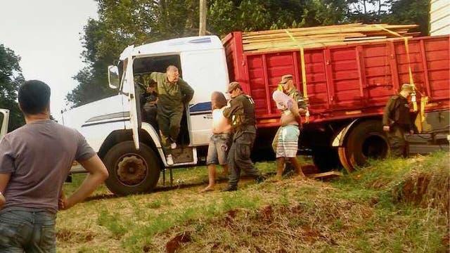 Gendarmería atrapó a un clan familiar que lideraba el transporte de drogas