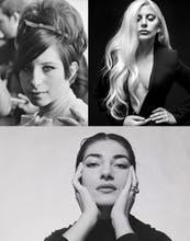 Lady Gaga, Barbra Streisand, María Callas: Bellezas imperfectas, tan únicas como inigualables