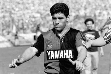 Todo en orden: Maradona y sus sensaciones al volver al fútbol
