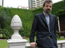 José Cibelli, ayer a la tarde, en un hotel de esta capital