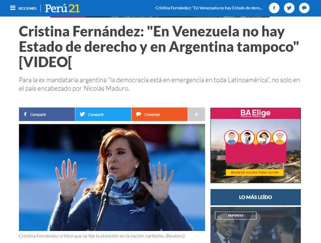 Perú 21 (Perú)