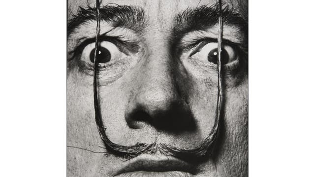 «Como dos centinelas erguidos, mi bigote custodia la entrada a mi verdadero yo», El bigote de Dalí, 1954