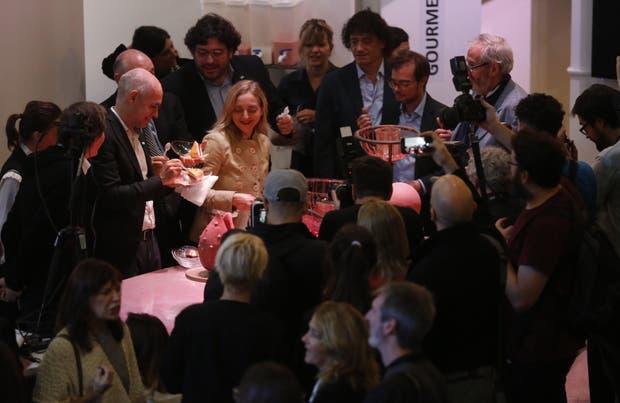 Rodríguez Larreta, Avelluto y Mahler probaron el menú de Nicola Costantino