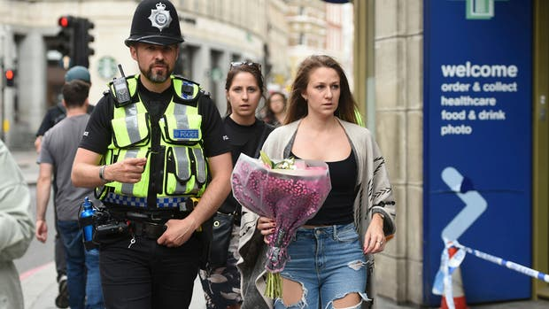 Londres sufrió tres ataques el sábado por la noche