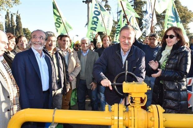 Schiaretti licitó el gasoducto en 2008, pero aún está inconcluso
