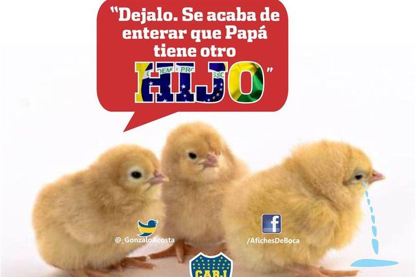 Los afiches de Boca. Foto: facebook.com/AfichesDeBoca