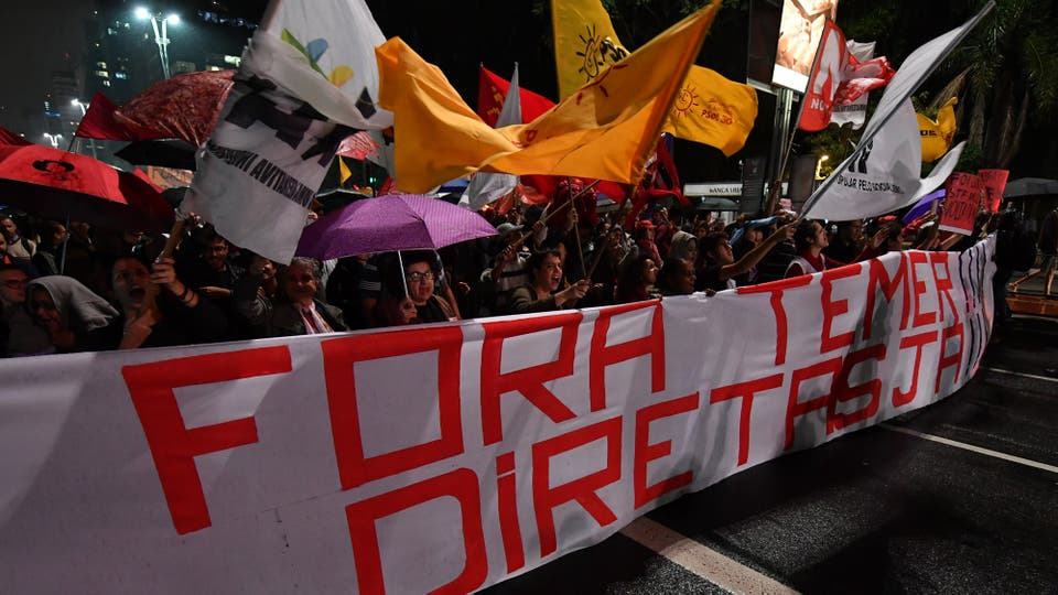 Crisis política en Brasil: Temer recibió 5 mdd en sobornos