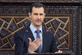 Al-Assad negó haber utilizado armas químicas