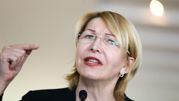 La destituida fiscal general de Venezuela, Luisa Ortega