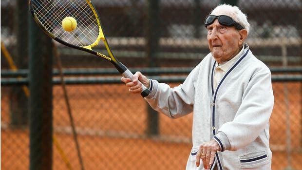 Elmayan y su pasión: el tenis en las canchas de River