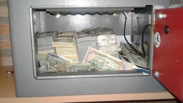 Los 500 mil dólares encontrados en una caja fuerte de la chacra de Balcedo