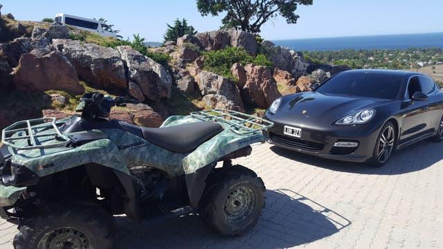Los vehículos encontrados en la chacra de Balcedo