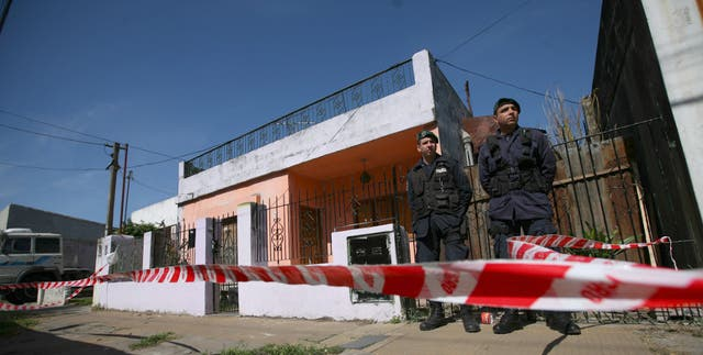 La casa donde se presume que estuvo secuestrada Candela