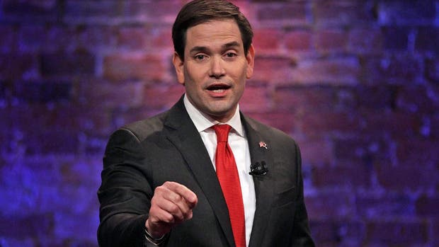 El republicano Marco Rubio